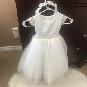 Flower girl dress or can also be used for Baptism
